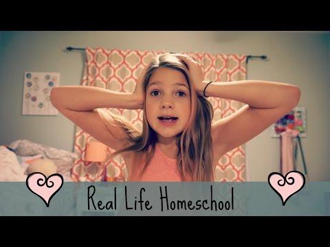 A Real Life Homeschool Day | Unusual School Routine