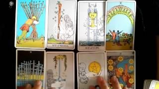 塔羅影片教學﹕塔羅初學者方法(6) 小祕儀與四元素