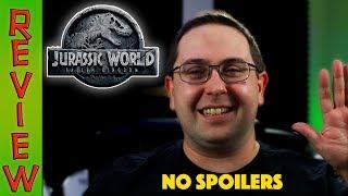 REVIEW! Jurassic World: Fallen Kingdom NO SPOILERS - Chris Pratt Movie 2018