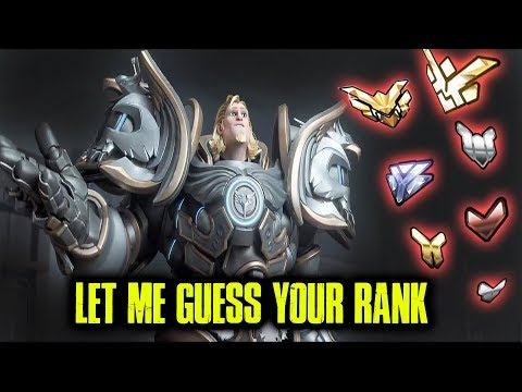 CAN I GUESS YOUR RANK?