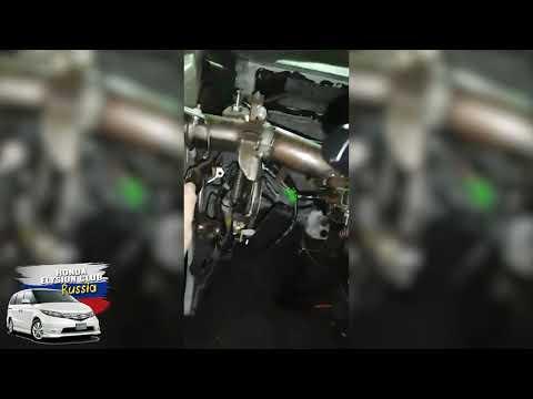 Перекинутый руль без панели, ЖЕСТЬ Honda Elysion