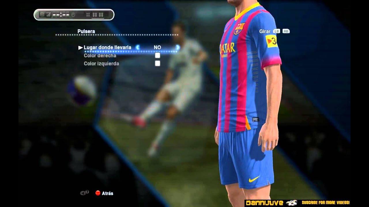 f8fc0f2c3e2 PES 2013 - FC Barcelona New Kit 2013/2014 [Home-Away-Third] [HD ...