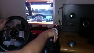 Live For Speed PC Gameplay Logitech G27 Drift [GREEK]