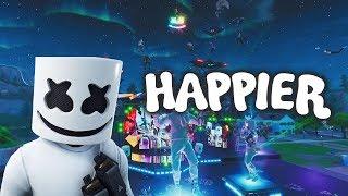 Fortnite Montage - Happier (Marshmello ft. Bastille)