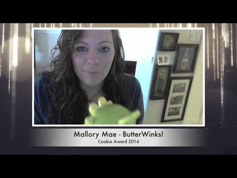 Cake Masters Magazine 2014 - Cookie Award Mallory Mae Acceptance Speech