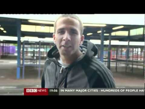 Salford Riot Interview With Chav Mother&Dickhead
