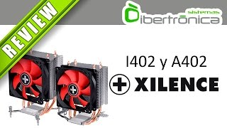 xilence I402 y A402  Review