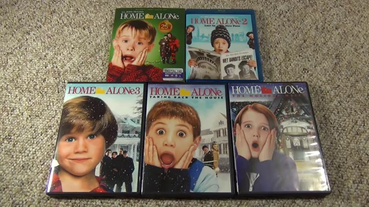 Home Alone Blu Ray And Dvd Collection And Unboxing The 4th Movie