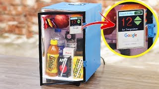 How to Make a Smart Touch Screen Refrigerator at Home