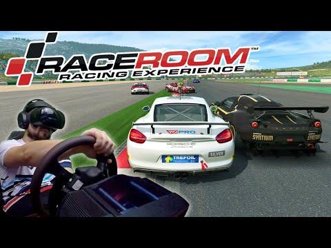 Сончик подался в комментаторы? RaceRoom Racing Experience