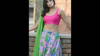 indian beautiful girl hot navel