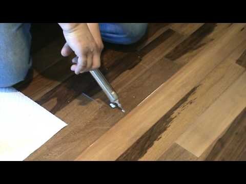 How To Repair A Popping Floor ,glue Down,or Floating PART 1   YouTube
