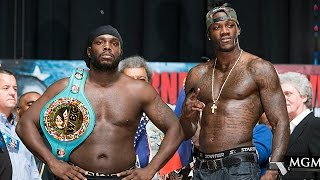 Weigh-in Live: Stiverne Vs. Wilder - Showtime Boxing