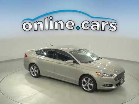 G17791ZP Used 2015 Ford Fusion Gold Sedan Test Drive, Review, For Sale