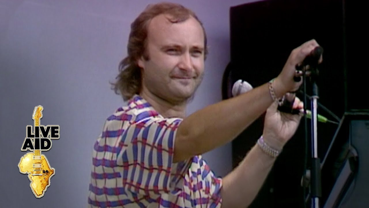 Download Phil Collins - Against All Odds (Live Aid 1985)