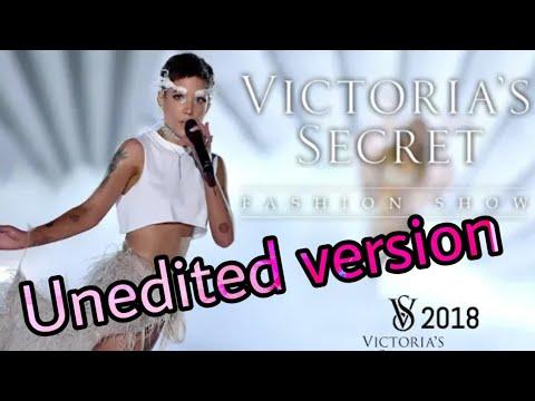 Halsey Without Me Live Unedited Version Of Victoria Secret Fashion Show 2018