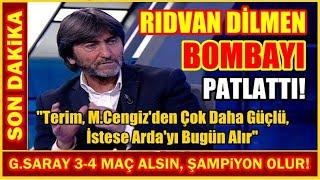 ''Galatasaray Şampiyon Olur!'' I Rıdvan Dilmen Bombayı Patlattı...