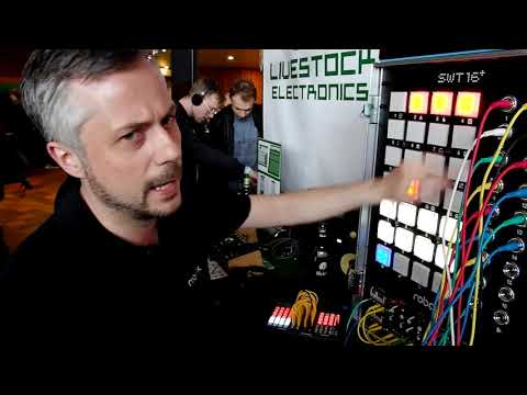 Gigantic 16-Track Drum Computer At Superbooth 2019
