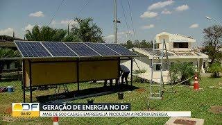 Bom Dia DF | Brasilienses investem em geração de energia solar