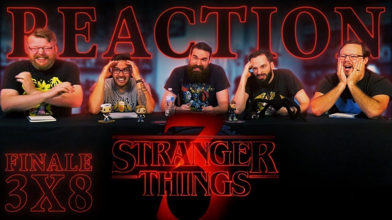 Stranger Things 3x8 FINALE REACTION!!