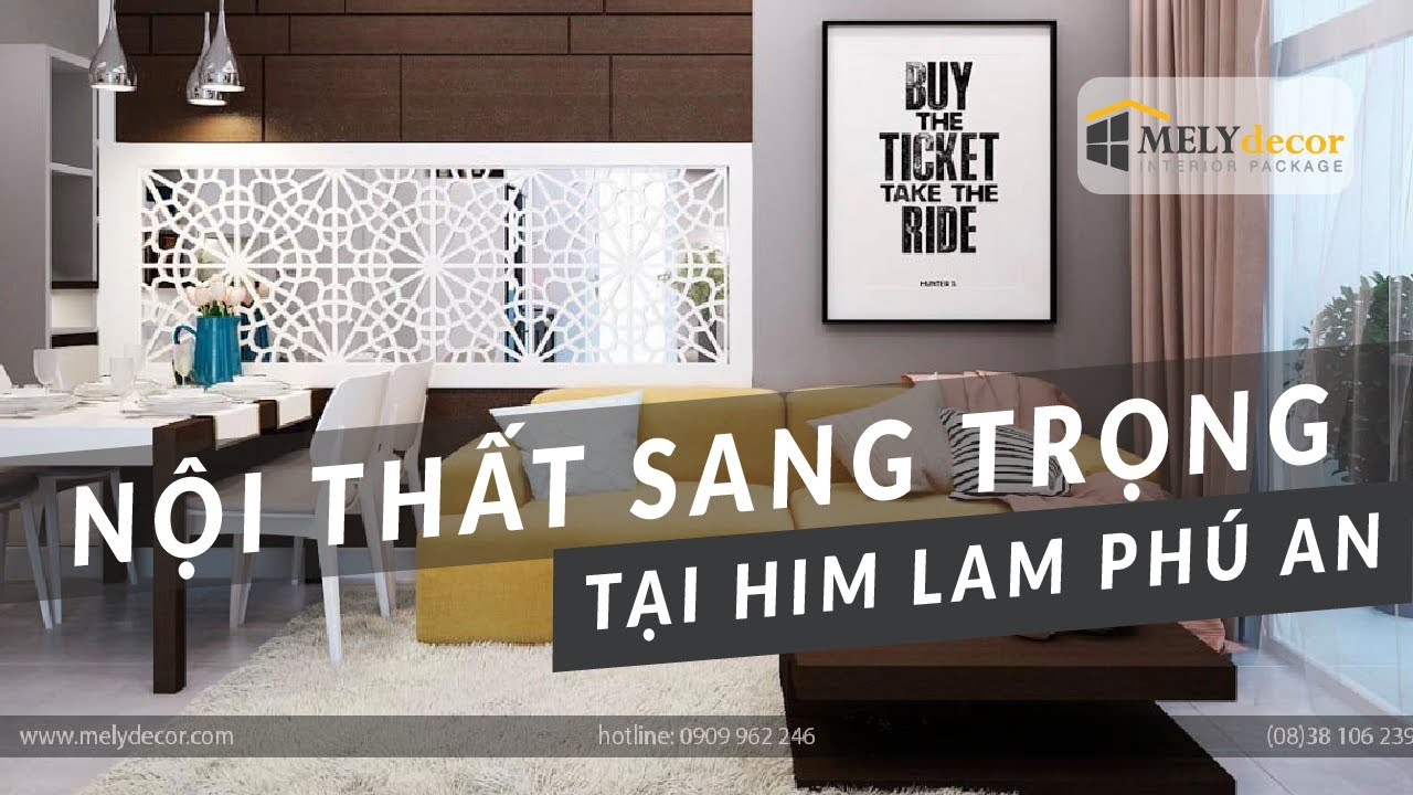 Thiết kế căn hộ Him Lam Phú An – Quận 9 – MelyDecor