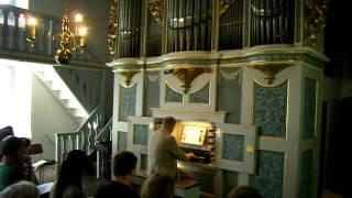 Fraureuth Ev.-luth. Kirche Vorstellung der Silbermann-Orgel durch Dr. Felix Friedrich