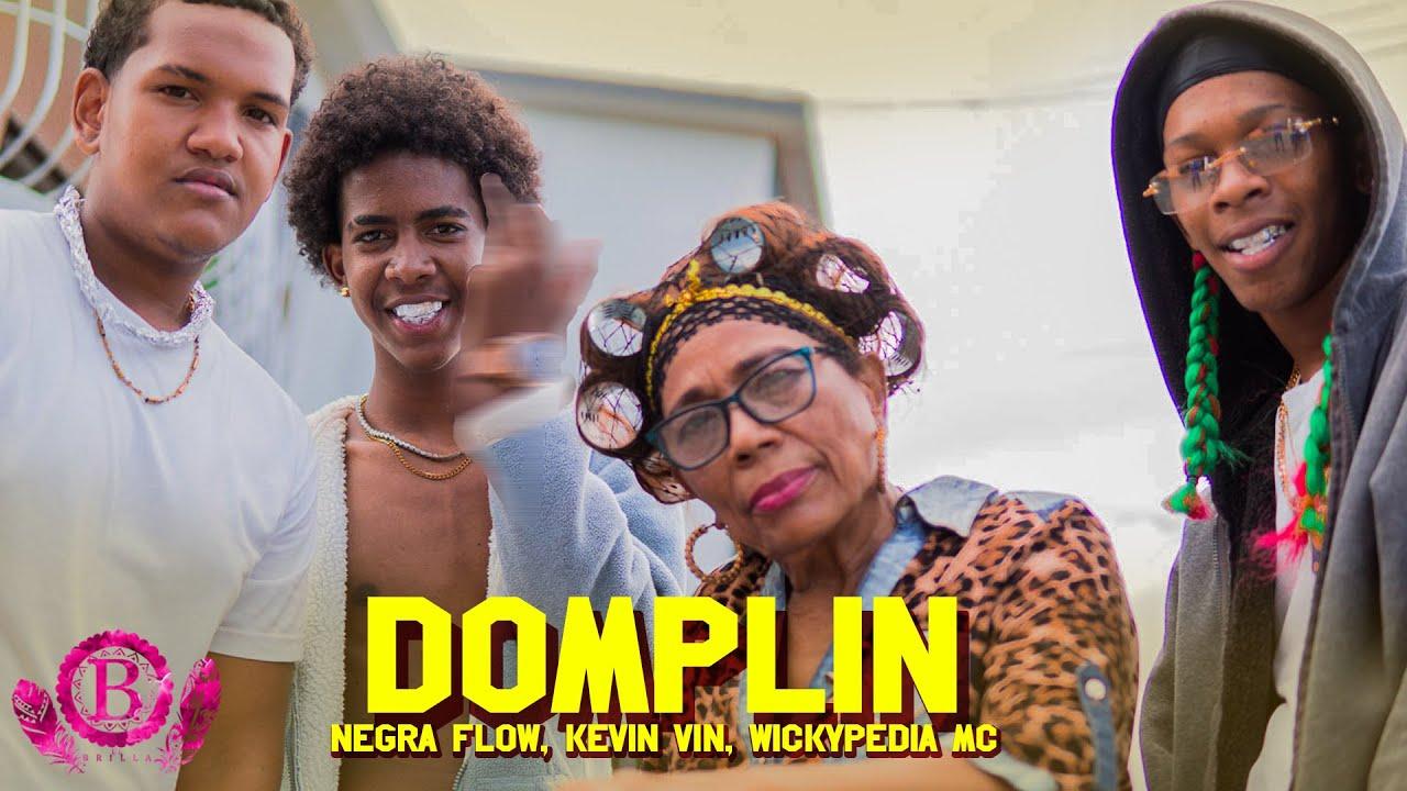 Negra Flow, Kevin Vin, Wickypedia Mc - Domplin (Video Oficial)