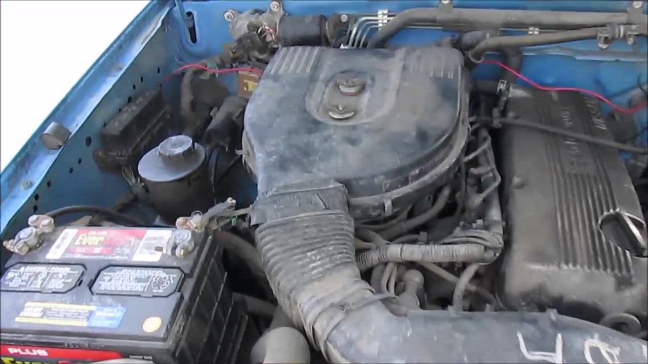 Nissan D21 Hardbody  How To Change The Fuel Filter  YouTube