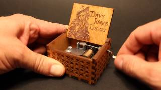 Davy Jones Locket - Pirates Of The Caribbean Music box by Invenio Crafts