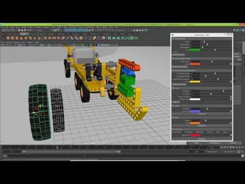 Python Script - Maya Lego GUI