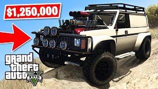 *NEW* GTA 5 4x4 Off-Road Hellion Jeep $1,250,000 Spending Spree! (GTA 5 New Cars)