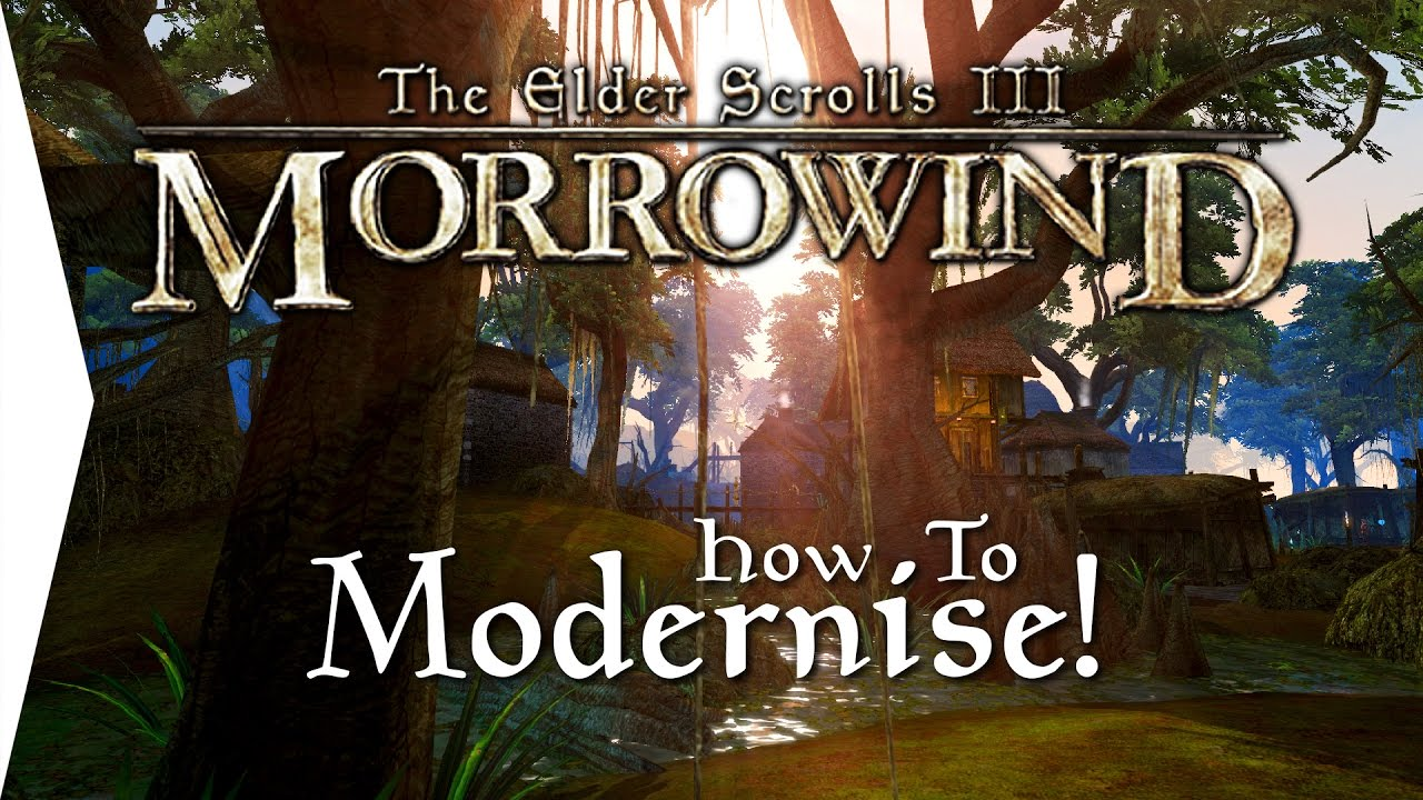 Modernising Morrowind ► How To Install Morrowind Overhaul, Rebirth &  Tamriel Rebuilt!
