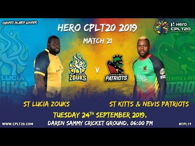 Match 21 Highlights | #SLZvSKP | #CPL19
