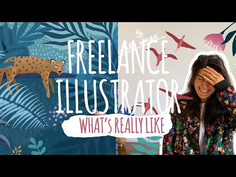 Working as Freelance ILLUSTRATOR: I Answer Your Questions!? (Honest Q&A)