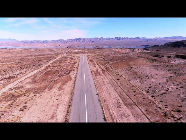 Remote Airstrip in Nevada, U.S.A.