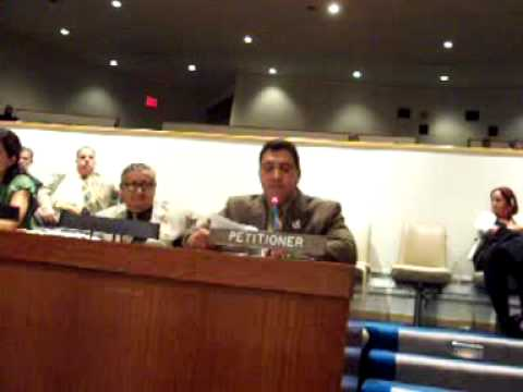 Anthony Mele Testimony to United Nations Decolonization Committee - Puerto Rico 6.15.09