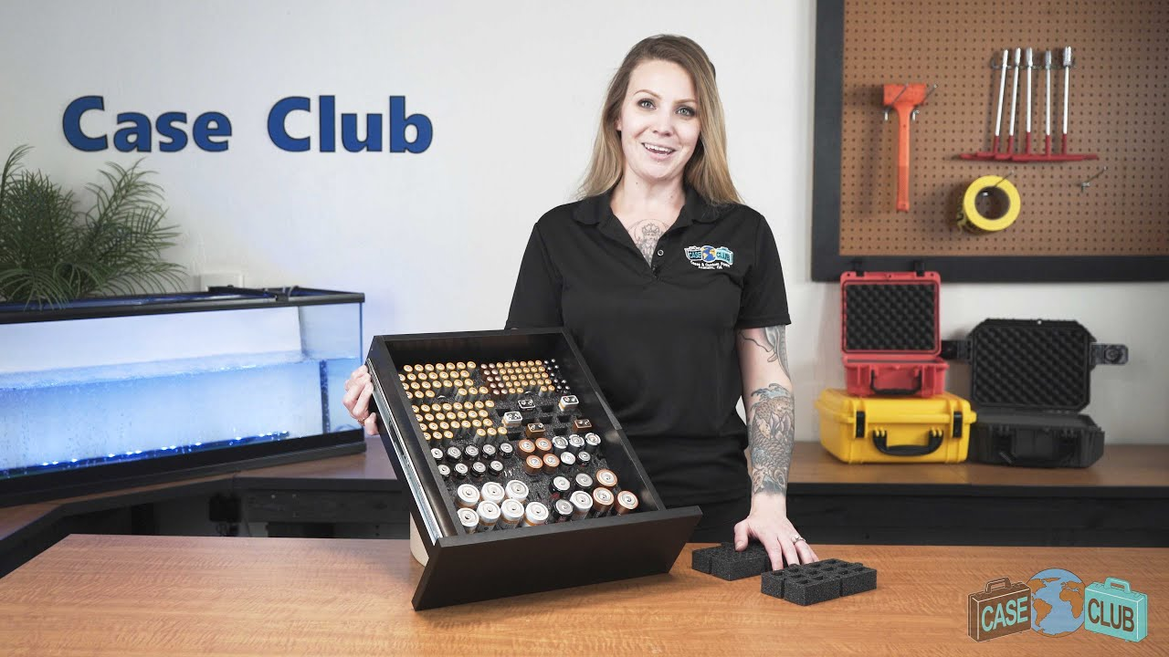Case Club Battery Drawer Organizer - Overview - Video