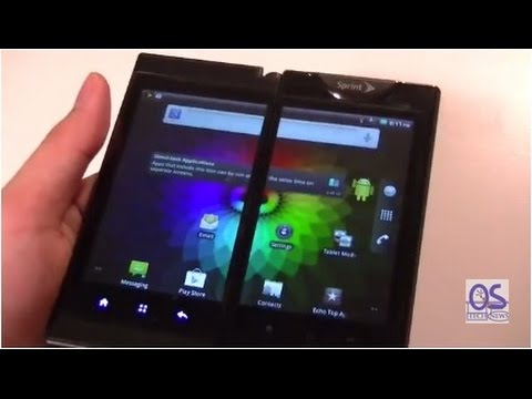 Kyocera Echo Review: Dual Screen Android Smartphone!
