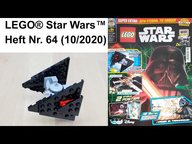 LEGO® Star Wars™ Heft Nr. 64 mit Sith Eternal TIE Dagger™