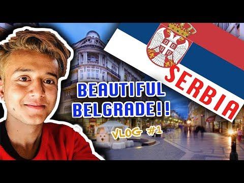 Beautiful Belgrade, Serbia Vlog#1   Nepal's Solo Travel Vlogger goes to Serbia   Travel Vlog 2018