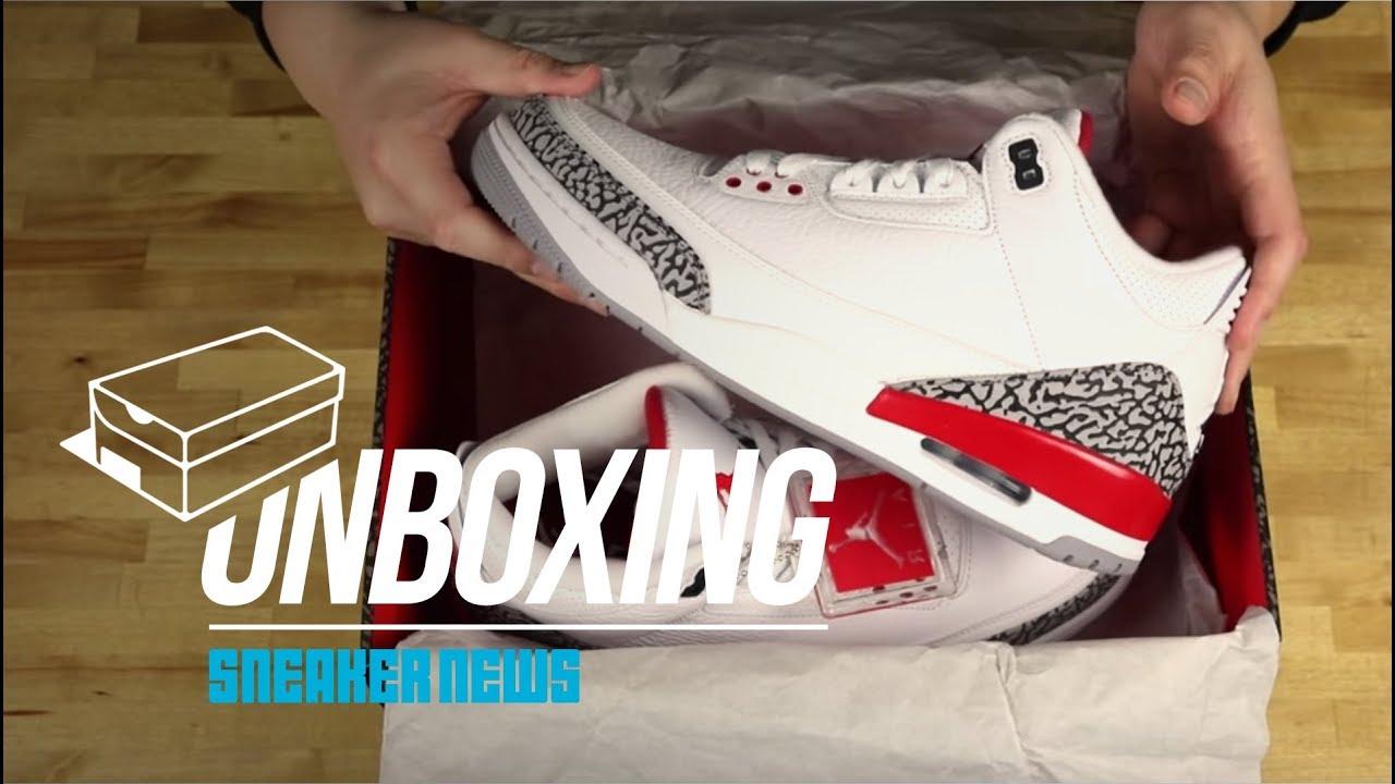 da2b715b3926 Unboxing The Air Jordan 3