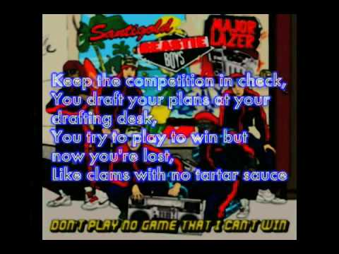 Beastie Boys – Don't Play No Game I Can't Win Feat ...
