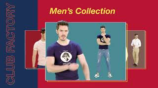 CF LookBook || Club Factory Men