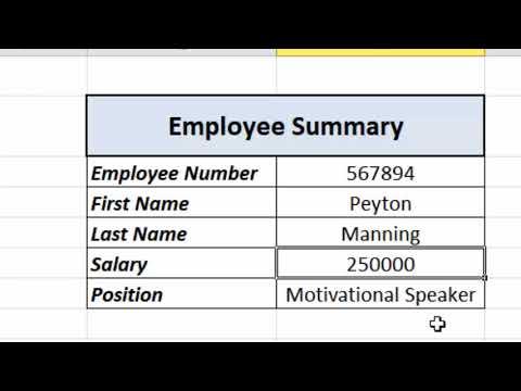 Excel Essentials -- Level UP -- VLOOKUP vs. INDEX/MATCH