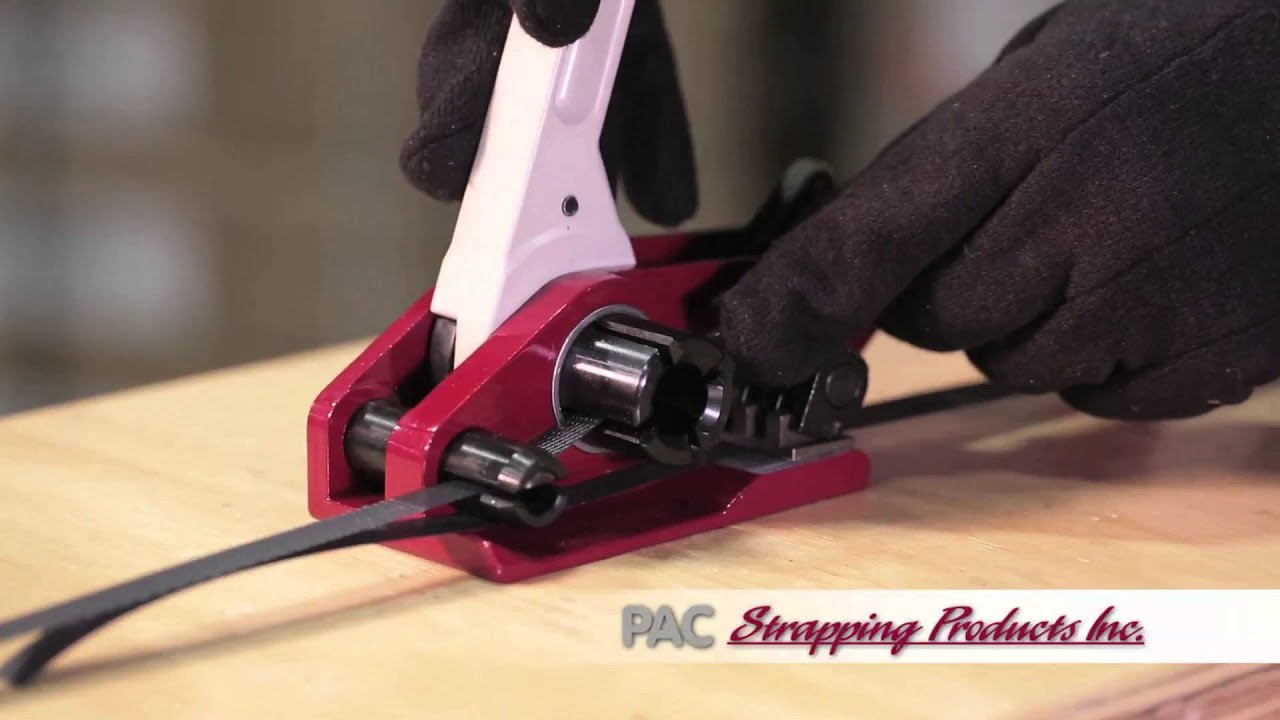 strapping tensioner how to use