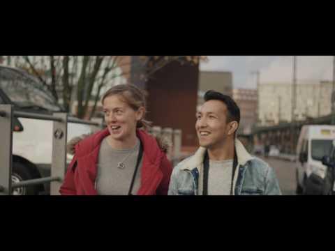 #Türöffner für Geflüchtete – Paola und Rashed aus Hamburg