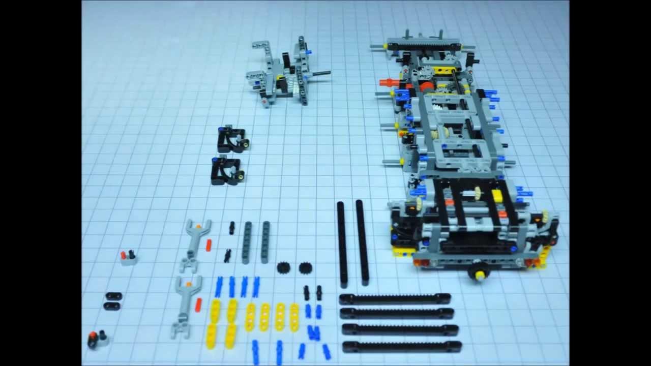 lego technic 42009 mobile crane mk ii mobiler. Black Bedroom Furniture Sets. Home Design Ideas