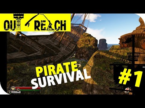 PIRATE SURVIVAL - Part 1 - Out of Reach Coop Multiplayer Gameplay (Season 1)