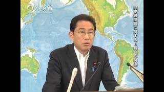 岸田外務大臣会見(平成28年6月28日)
