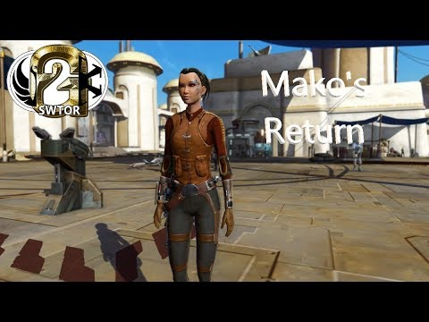 Swtor Patch 5 9 Review Mako S Return Bounty Hunter Romance
